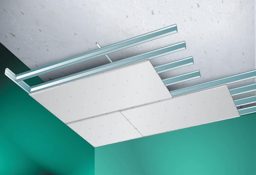 Cr er un faux plafond acoustique les solutions for Creer un faux plafond suspendu